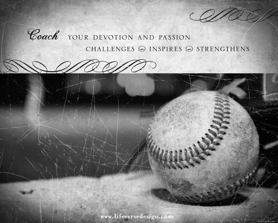 baseball coach gift baseball keepsake 02v